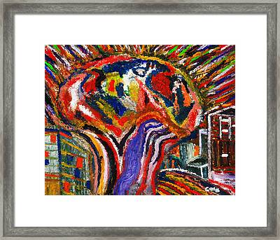 Acoustic Spirit Framed Print by Brian Cole