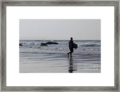 Acquaman Framed Print by Brian Roscorla