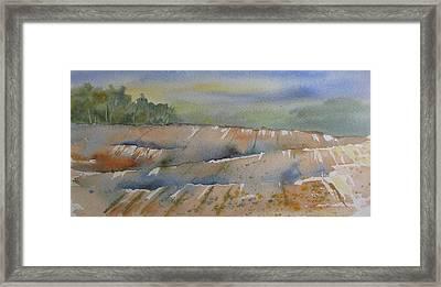 Acres Of Land Framed Print