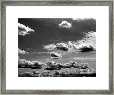 Across Sky Framed Print by Yury Bashkin