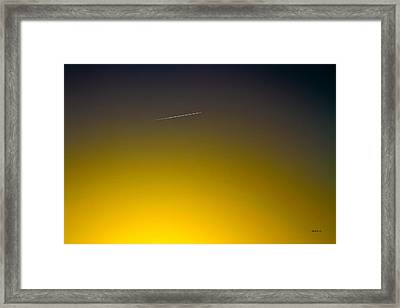 Across The Universe Framed Print