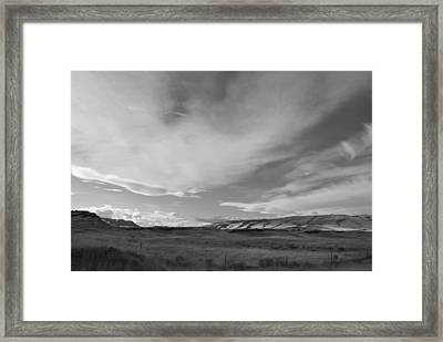 Framed Print featuring the photograph Across The Valley by Kathleen Grace