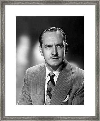 Act Of Murder, Fredric March, 1948 Framed Print