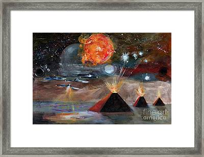 Activation Framed Print