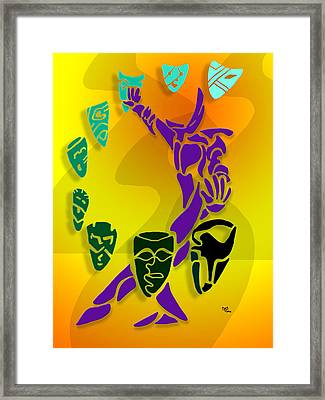 Actor Framed Print by William McDonald