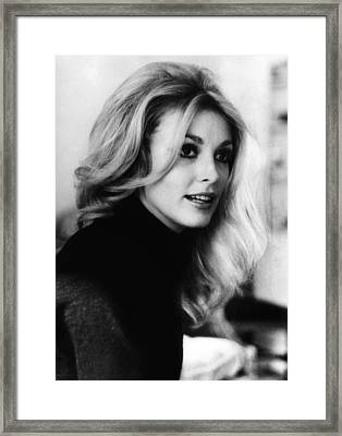 Actress Sharon Tate, 1943-1969, Who Framed Print by Everett
