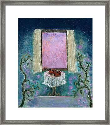 Adagio Framed Print by Erika Morrison