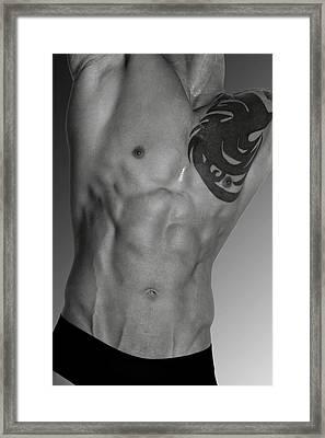 Adam 4 Framed Print