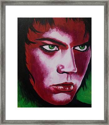 Adam Lambert - Intensity Framed Print