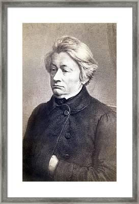 Adam Mickiewicz 1798-1855 Great Polish Framed Print by Everett