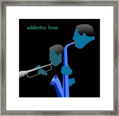 Adderley Brothers Framed Print by Victor Bailey