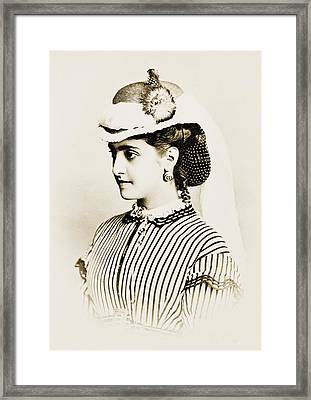 Adelina Patti 1843-1919 Made Framed Print by Everett