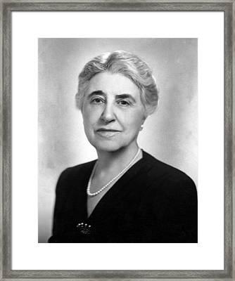 Adella Prentiss Hughes, 1869-1950 Framed Print