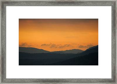 Framed Print featuring the photograph Adirondacks by Steven Richman