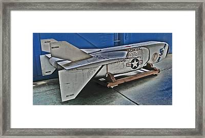 Adm 20c Quail Missile Decoy Framed Print by Samuel Sheats