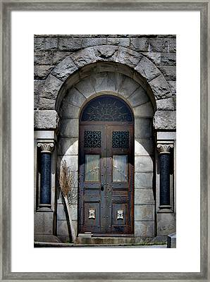 Admission Framed Print by Phil Bongiorno