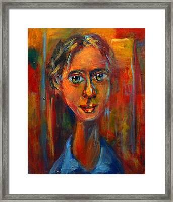 Adolescence  Framed Print