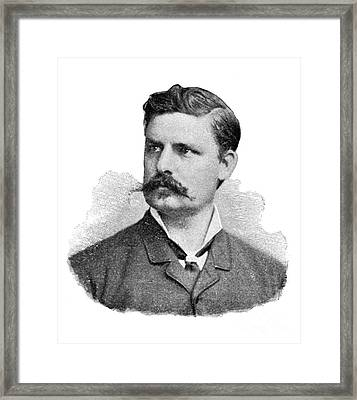 Adolf Eugen Fick, German Physiologist Framed Print by Science Source
