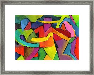 Adoracion Framed Print by John Crespo Estrella