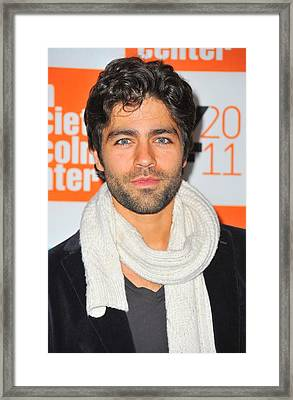 Adrian Grenier At Arrivals For George Framed Print by Everett