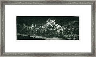 Adriatika Framed Print by Marina Lazareva