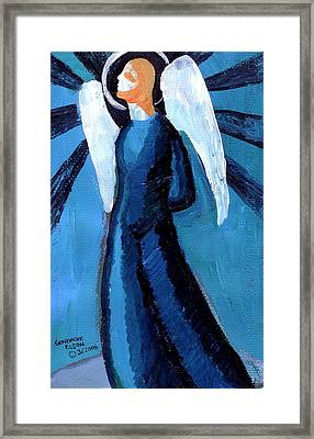 Adrongenous Angel Framed Print by Genevieve Esson