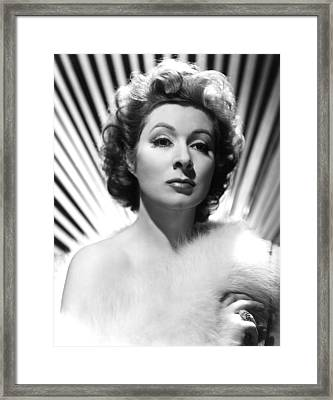 Adventure, Greer Garson, 1945 Framed Print by Everett