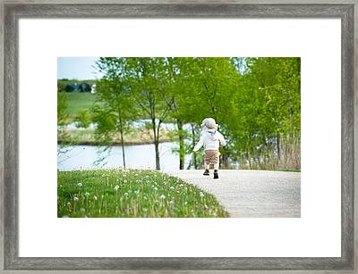 Adventure Framed Print by Sebastian Musial