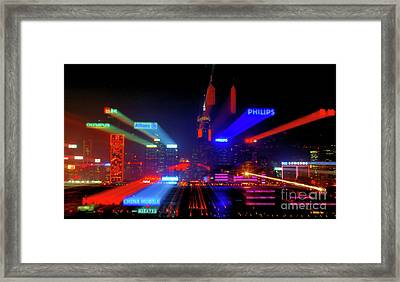 Advertising 101 Framed Print by Bibhash Chaudhuri