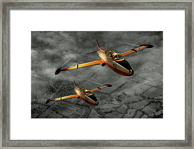 Aermacchi In Flight Framed Print