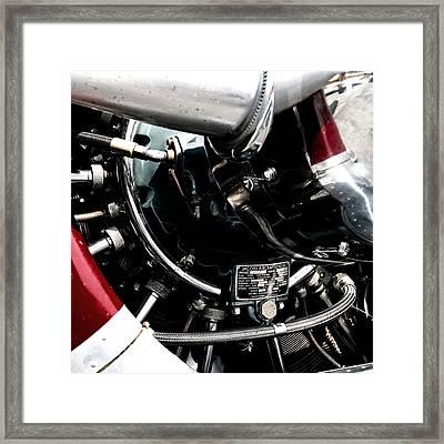 Aero Machine 6 Framed Print by Nathan Larson