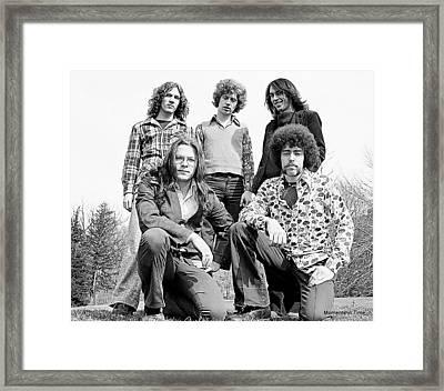 Aerosmith 2 Framed Print by Glenn McCurdy