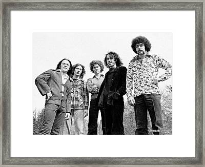 Aerosmith Beginning Framed Print by Glenn McCurdy