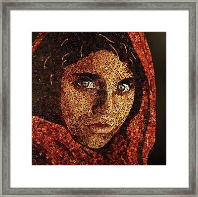 Afghan Girl II Framed Print