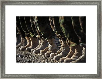 Afghan National Army Air Corp Soldiers Framed Print