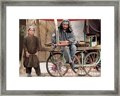 Afghan's Live Framed Print