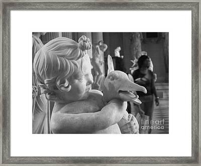 Aflac Framed Print by Leigha Sherman
