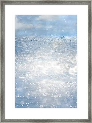 Afloat Framed Print by Richard Piper