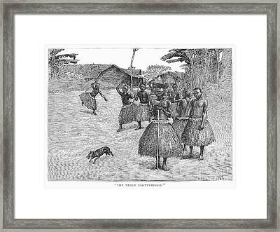Africa: Ndoge Brotherhood Framed Print by Granger