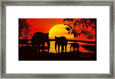 Africa Framed Print by Robert Orinski