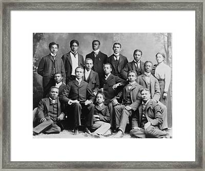 African American Academic Students Framed Print by Everett
