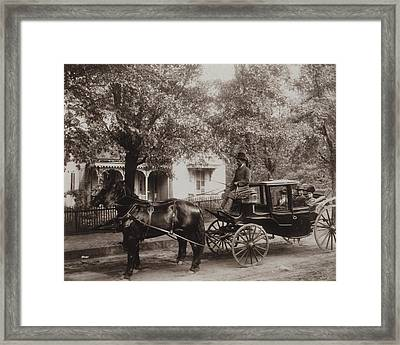 African American Family In A Fine Framed Print by Everett