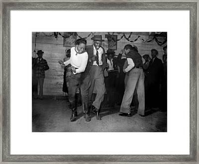 African American Juke Joint, Original Framed Print by Everett