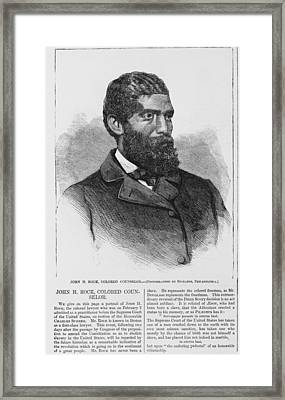 African American Quarters Of The Army Framed Print by Everett