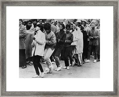 African American Women Dance At A Civil Framed Print by Everett