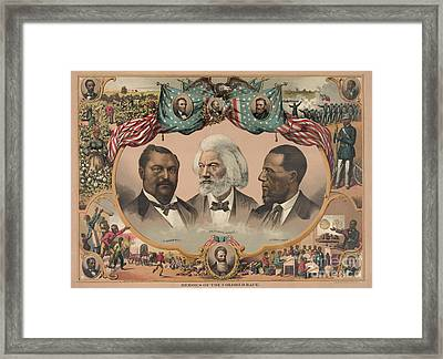 African Americans, C1881 Framed Print by Granger