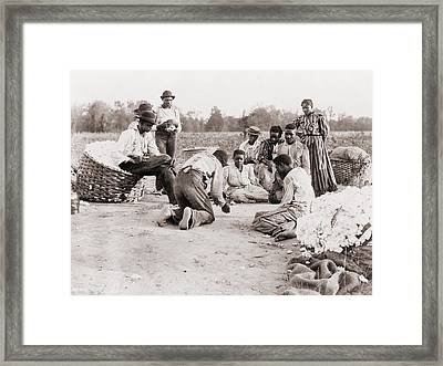 African Americans Enjoying Some Rest Framed Print by Everett