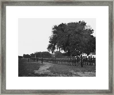 African Americans Soldiers Of The 29th Framed Print
