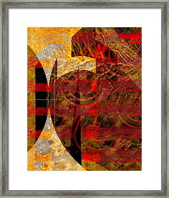 African Influence Framed Print by Ann Powell