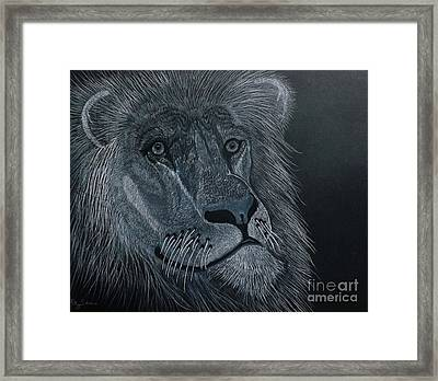 African King Framed Print by Gerald Strine
